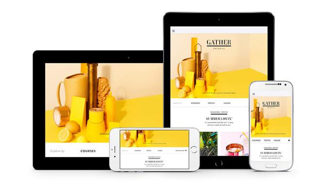 Adobe Digital Solution på flere enheder