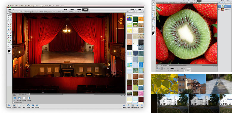 professionelt kursus i photoshop elements