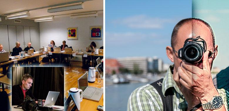professionelt fotokursus i motivkomposition og kreativ efterbehandling