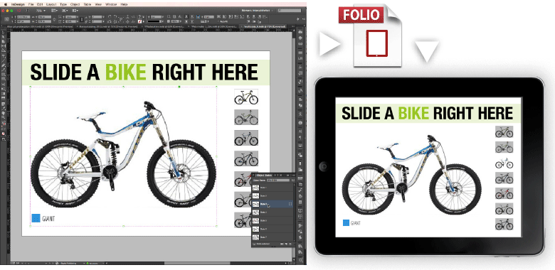 professionelt kursus med output i folio til tablets (ipad) fra adobe indesign