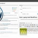 Kursus om WordPress