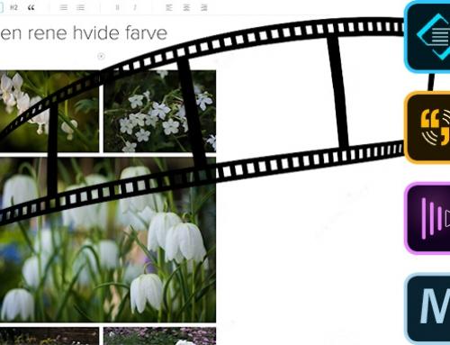 Nyt kursus i visuel historiefortælling med Adobe's mobile apps