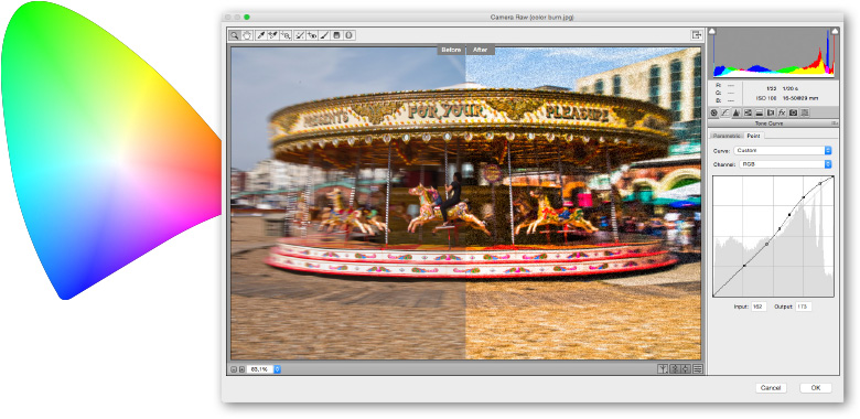 professionelt kursus i camera raw med adobe photoshop