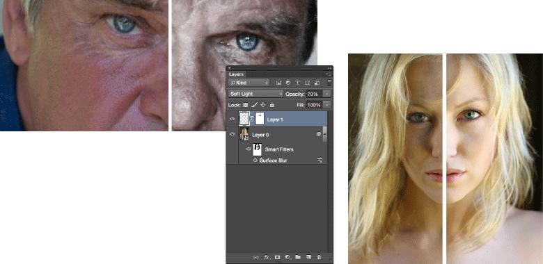 professionelt kursus i retouchering med adobe photoshop