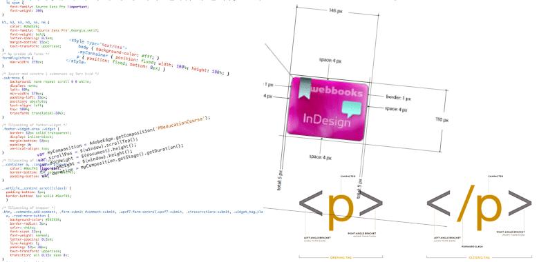 professionelt kursus i html og css